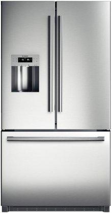 "36"" Standard Depth French Door Bottom-Freezer 800 Series - Stainless Steel"