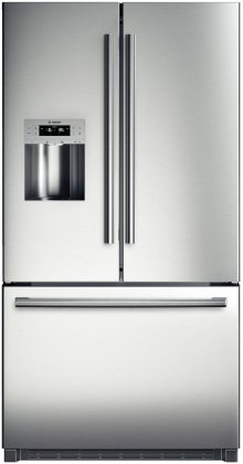 "36"" Standard Depth French Door Bottom-Freezer 800 Series - Stainless Steel"