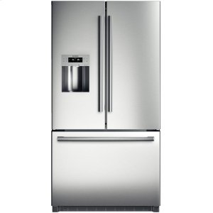 "BOSCH36"" Standard Depth French Door Bottom-Freezer 800 Series - Stainless Steel"