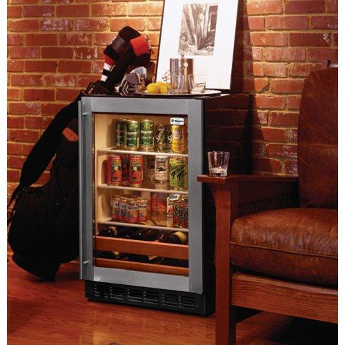 Monogram Stainless Steel Beverage Center
