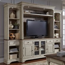 498  Entertainment Center with Piers