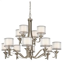 Lacey Collection Lacey 12 Light, 2 Tier Chandelier - AP