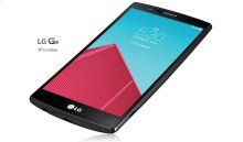 LG G4 US Cellular in Genuine Leather Black
