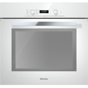 MIELEH 6280 BP 30 Inch Convection Oven with Self Clean for easy cleaning.
