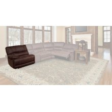 Pegasus Dark Kahlua Power Left Arm Facing Recliner