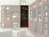 "Cherry Creek 32"" Wall Curio Cabinet Product Image"