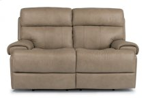 Margot Leather Power Reclining Loveseat