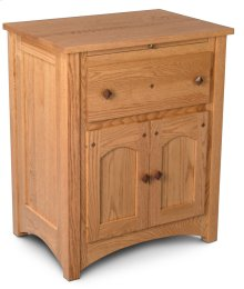 Royal Mission Deluxe Nightstand with Doors