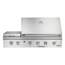 """Discovery 36"""" Outdoor Grill, in Stainless Steel with Chrome Trim, includes Sear Burner, for use with Natural Gas Product Image"""