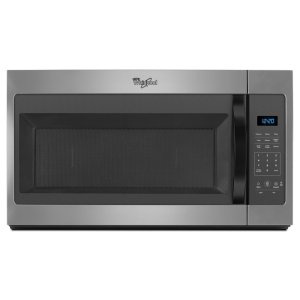 1.7 cu. ft. Microwave Hood Combination with Electronic Controls - SILVER