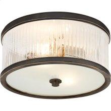 Visual Comfort AH4200BZ-FG Alexa Hampton Randolph 2 Light 11 inch Bronze Flush Mount Ceiling Light