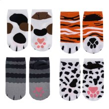 12 Pc PPK Youth Paw Socks