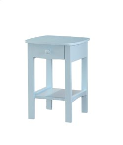 1 Drawer Nightstand-pastel Blue Product Image