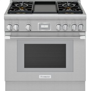 Thermador36-Inch Pro Harmony® Standard Depth Gas Range
