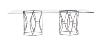 """Argent Rectangular Dining Table (100"""") Product Image"""