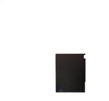 Black Side Panel Kit for 30'' Slide'' Range