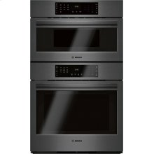 800 Series Combination Oven 30'' Black stainless steel