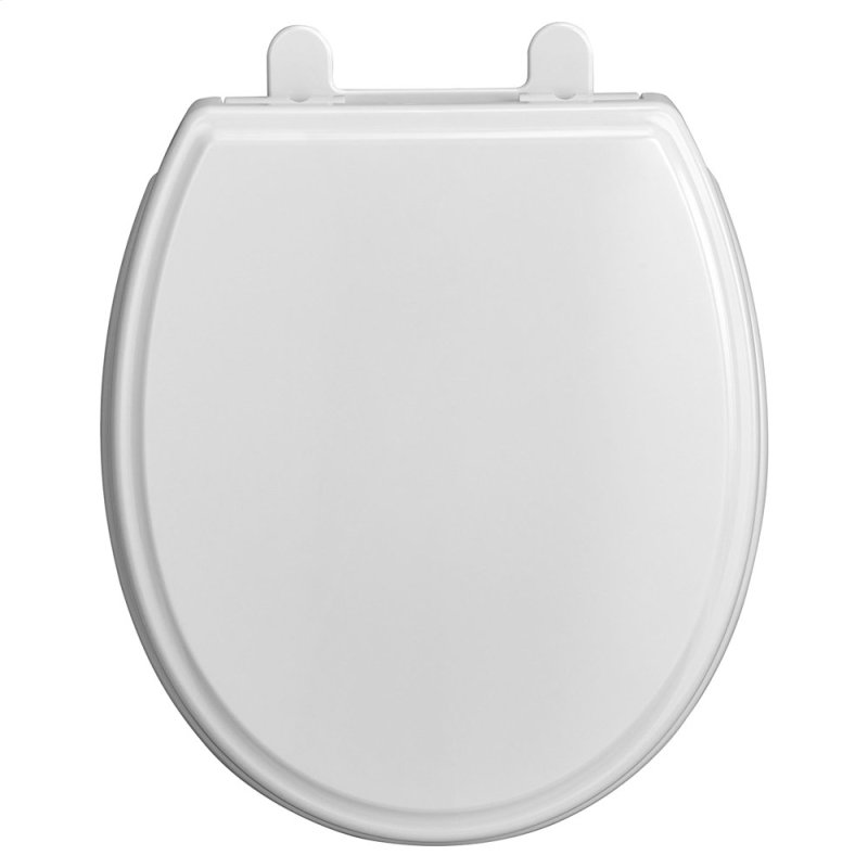 Traditional Round Front Toilet Seat American Standard White