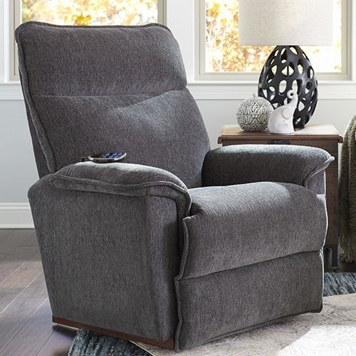 Jay Power Rocking Recliner w/ Head Rest & Lumbar