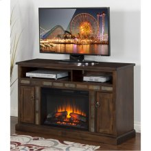 Red Hot Buy! Be Happy! Santa Fe Fire Place/ TV Console