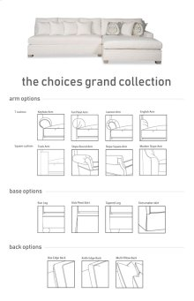 CHOICES GRANDE - 35G CHOICES GRANDE SECTIONAL (Sectionals)