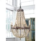 Wood Beaded Chandelier Product Image