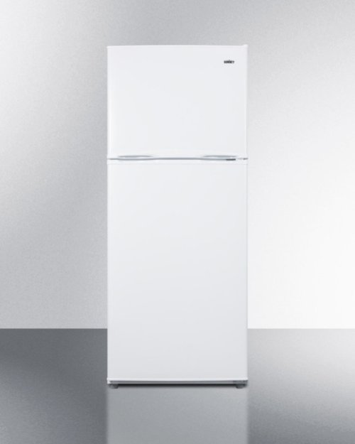 """24"""" Wide 11.5 CU.FT. Frost-free Refrigerator-freezer In White Finish With Factory Installed Icemaker"""