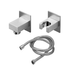 Aliso Wall Mounted Handshower Kit - Rectangle - Carbon