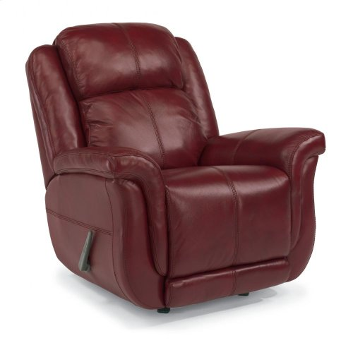 Brookings Leather or Fabric Rocking Recliner