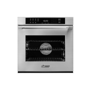 "DacorHeritage 27"" Single Wall Oven, DacorMatch with Epicure Style Handle (End Caps in stainless steel)"
