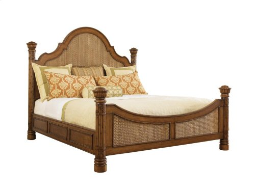 King Round Hill Bed