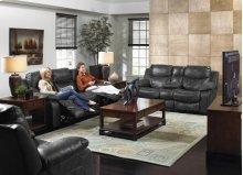 Reclining Sofa - Steel