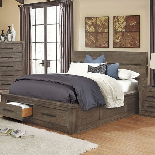 California King-Size Oakes Bed