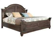 Homestead California King Louvered Bed