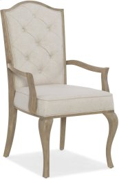 Modern Romance Upholstered Arm Chair