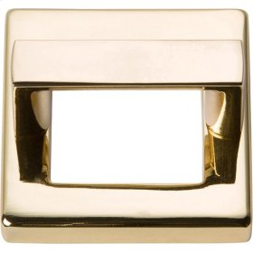Tableau Square Base and Top 1 7/16 Inch - French Gold