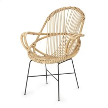 Hand Woven Rattan Accent Chair