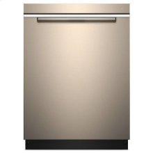 Whirlpool® Stainless Steel Tub Pocket Handle Dishwasher with TotalCoverage Spray Arm - Sunset Bronze
