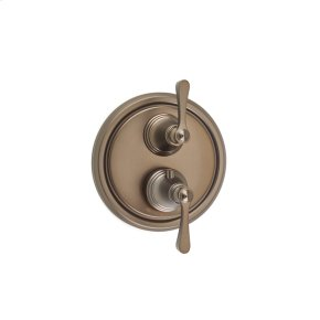 Bronze Summit (Series 11) Dual Control Thermostatic with Diverter and Volume Control Valve Trim
