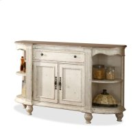 Coventry Server Weathered Driftwood/Dover White finish Product Image