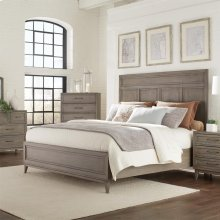 Vogue - Full/queen Panel Headboard - Gray Wash Finish