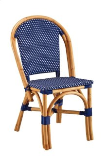 Blue Paley Bistro Side Chair