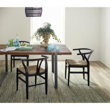 Maverick - Dining Table - Rustic Saal Finish