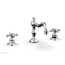 HENRI Widespread Faucet - Cross Handles 161-01 - Polished Chrome
