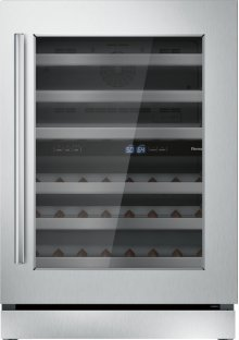 24 inch UNDER-COUNTER WINE RESERVE WITH GLASS DOOR T24UW910RS