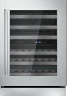 24 inch UNDER-COUNTER WINE RESERVE WITH GLASS DOOR T24UW910RS