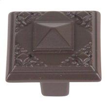 Craftsman Knob 1 1/4 Inch - Aged Bronze