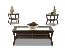 Living Room 3 Table Pack, 2 End,1 Cocktail 238-001 3PAK