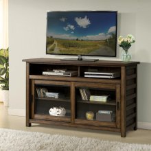 Perspectives - 54-inch TV Console - Brushed Acacia Finish