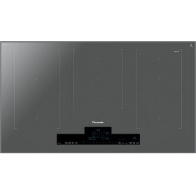 36-Inch Liberty Induction Cooktop, Silver Mirrored, Frameless